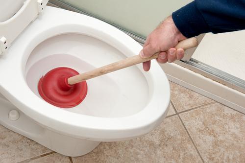 Toilet Bowl Choking